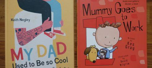 職業媽的必備親子共讀書單 ●Mummy Goes To Work ●還有說出爸爸心的繪本