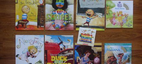孩子的英文耳●David's Colorful World●迪士尼有聲書及Barefoot Singalong童謠