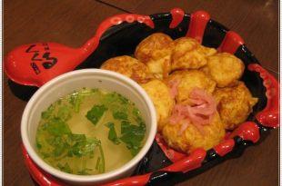 大阪環球影城のPOM蛋包飯、領帶章魚燒