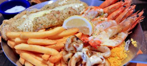 ♫新加坡自由行,小吃站一邊,爽吃海鮮_Fish & Co._親子餐廳