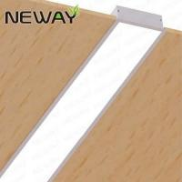 Linear Recessed Fluorescent Ceiling Light Fixture LED ...