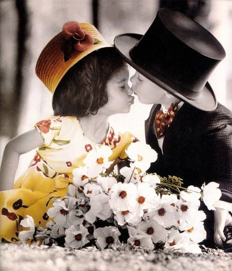 Cute Love Couple Kissing Wallpaper Works Of Famous Children S Photographer Kim Anderson 71