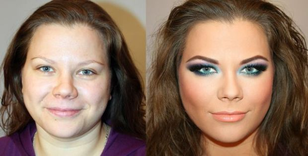 Make-up Miracles: Before and After. Part 3