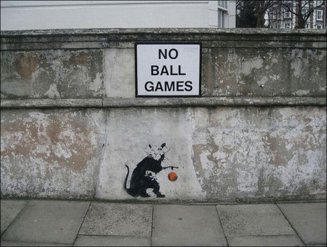 Grey Cute Wallpaper Banksy S Top Selection Of Work 127 Pics Izismile Com