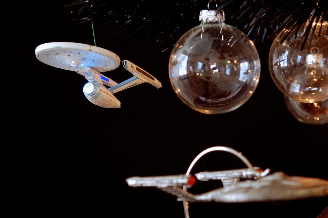 Star Trek Christmas Tree 2012 - USS Enterprise-A | JD Hancock