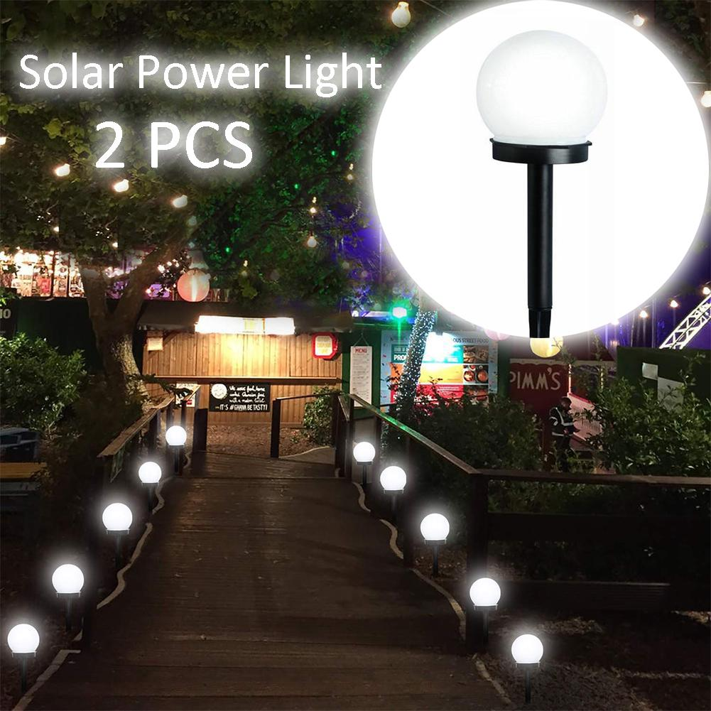 4pcs Outdoor Waterproof Led Solar Garden Ball Light Lawn Lamp Path Ground Lights Buy At A Low Prices On Joom E Commerce Platform