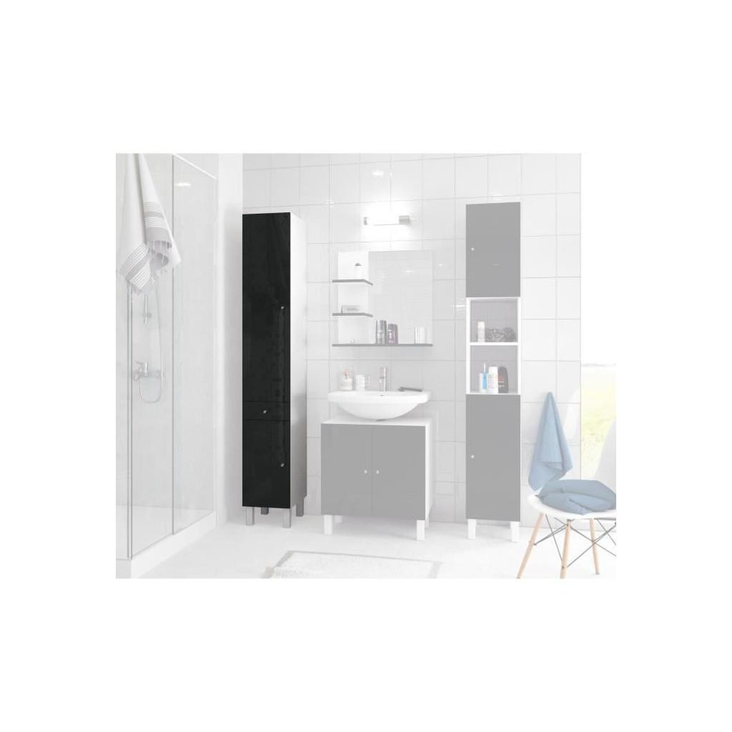 Corail Bathroom Column L 30 Cm Black Lacquered Buy At A Low Prices On Joom E Commerce Platform