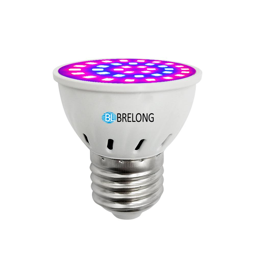 Brelong E27 E14 Gu10 Mr16 36led 2835 Plant Cup Light Ac 220 240v 1pc Brelong E27 E14 Gu10 Mr16 36led 2835 Plant Cup Light 110 130v 1pc