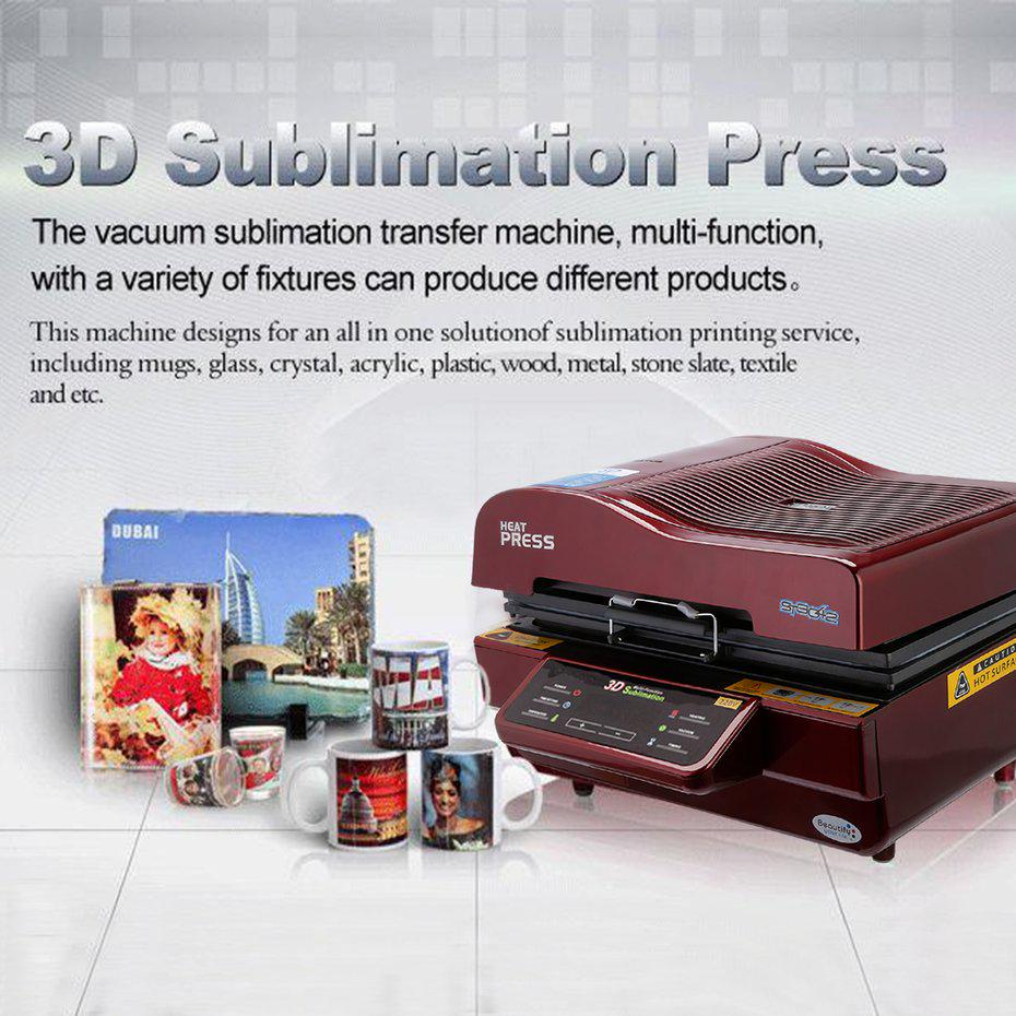 Sublimation Press Multi Function 3d Sublimation Vacuum Oven Heat Press Transfer Phone Plate Mug