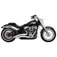 Vance & Hines Big Radius 2 into 2 Exhaust Chrome | 166 ...