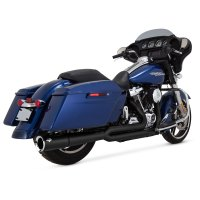 Vance & Hines 2 Into 1 Pro Pipe Exhaust Black | 992-756 ...