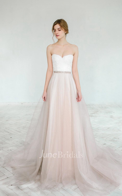 affordable wedding dresses online wedding dresses online cheap Blush Wedding Gown Dahlia 2 Pieces Dress