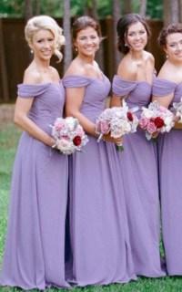Cheap Purple & Lavender Bridesmaid Dress - June Bridals