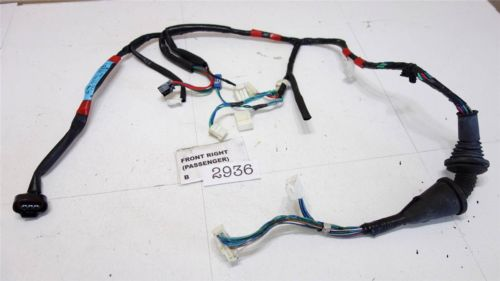 1997-2001 TOYOTA CAMRY FRONT RIGHT passenger DOOR WIRE