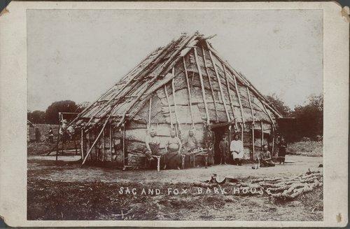 American Indians in Kansas - Kansas Historical Society - sac shelter