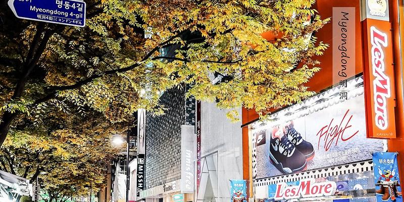 [Seoul] 2014.11首爾賞楓自由行 Day1 啟程-機場快線-弘大-明洞-合井站Homeplus