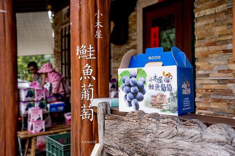 [台中。新社] 小木屋鮭魚葡萄