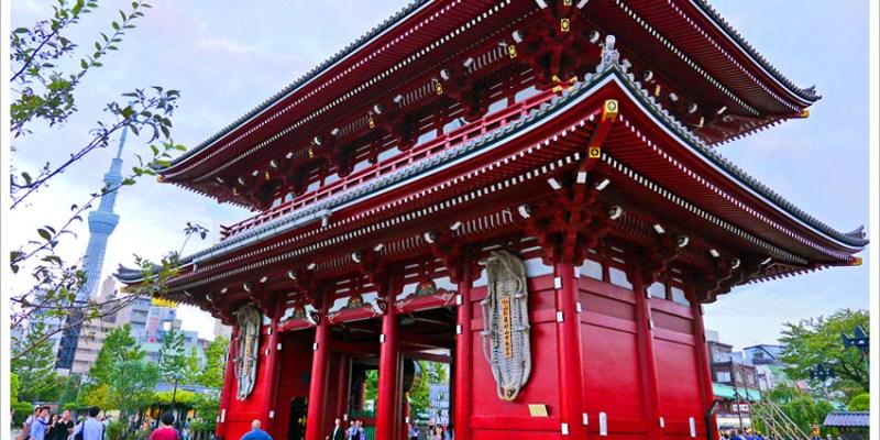 ★【日本東京】淺草雷門、仲介世通、淺草寺,來東京必遊景點,造訪超人氣古寺廟。
