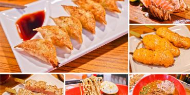 台中日式深夜食堂   三代目安兵衛台灣一號店-來自日本高知名物餃子,香酥又薄好好吃。日式拉麵湯頭好道地、稻燒特色料理超推薦。