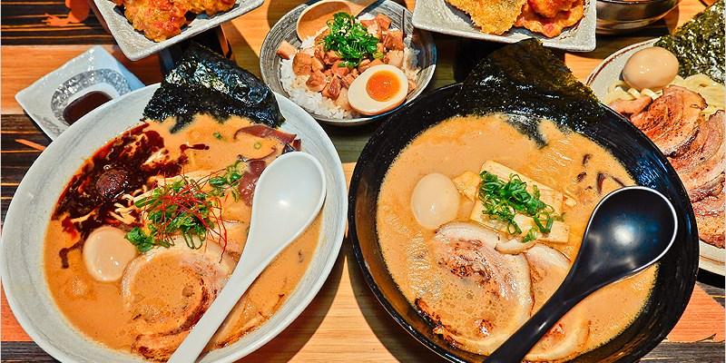 台中拉麵 | 麵屋虎徹(逢甲店)-吃不膩的日式濃厚系豚骨湯頭拉麵店。自家製麵,加麵加湯不加價,乎你甲到霸。