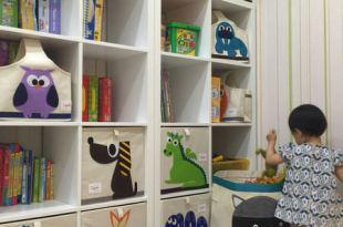 【改造小孩遊戲室】充滿童趣動物風格的加拿大 3 sprouts收納系列!