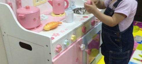 【揪團好物】女孩兒心中的夢幻廚房『Mother Garden野草莓豪華廚房組』!!