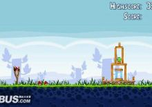 Psp/Pc/iphone/android 各平台通用圖文+影片攻略(Angry Birds 憤怒的小鳥) 1-1 ~1-5