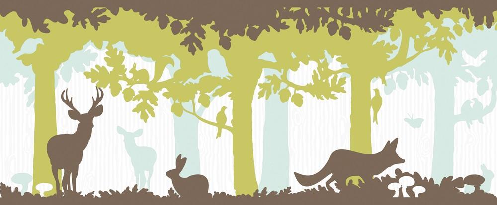 Bordure Kinderzimmer Grun u2013 eyesopen - deko tapete grun