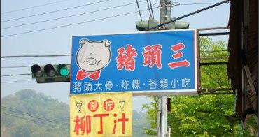 ﹝食﹞大坑。平價小吃豬頭三~嚇人的燉豬頭