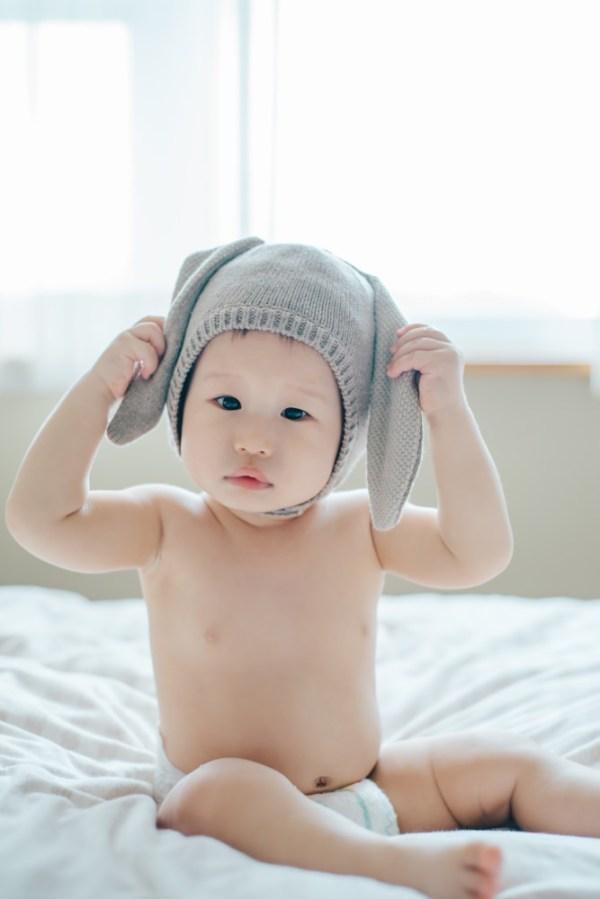 <Baby>珍貴的Tristan一歲紀念照!孩小照相館