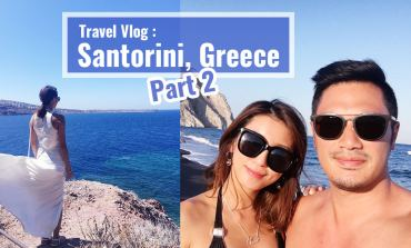 <影音>希臘之旅Travel Vlog:Santorini, Greece - part 2