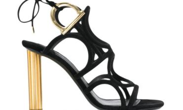Salvatore Ferragamo - Gancio flower heel