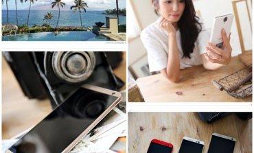 <3C>把手機用相機的標準來開箱! 正中女孩紅心的HTC One E9+。