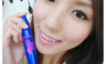 <彩妝>超乎你想像的乾淨濃密的睫毛! 媚比琳極速飛箭睫毛膏。