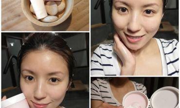 <清潔>100%潔淨不緊繃! RMK洗顏皂霜EX&玫瑰潔膚凝霜。