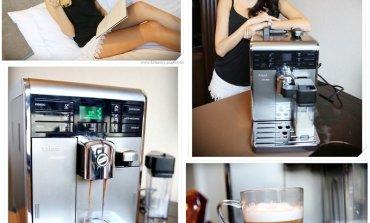 <生活>一鍵做出正統的義式咖啡。飛利浦Saeco-Moltio HD8869。
