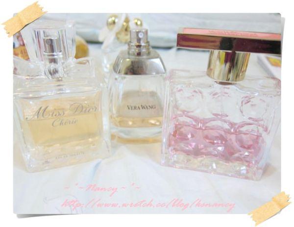 <香水>愛用香水分享。花香篇。