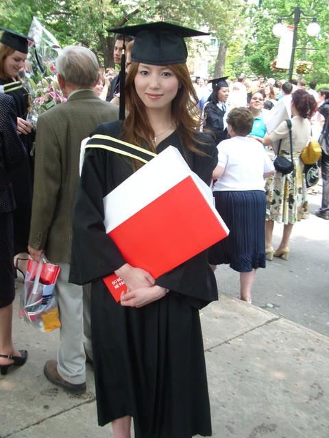 當我還是學生的日子。McGill University。