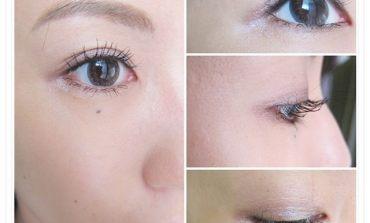 <眼妝>打造根根分明的名媛系捲翹睫毛。媚比琳天生名眸長翹睫毛膏。