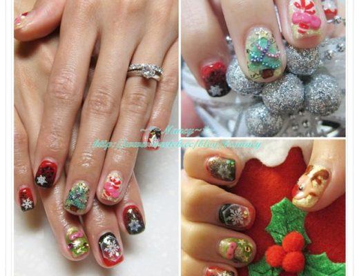 <光療>我的聖誕限定光療指甲。Hestia nails 赫司緹雅。