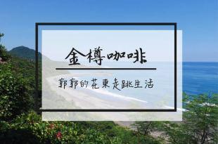 【台東東河】金樽咖啡~台11海線上一覽陸連島和太平洋美景的休憩點