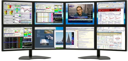 How Many External Monitors are Attached to your Computer? - multi screen display