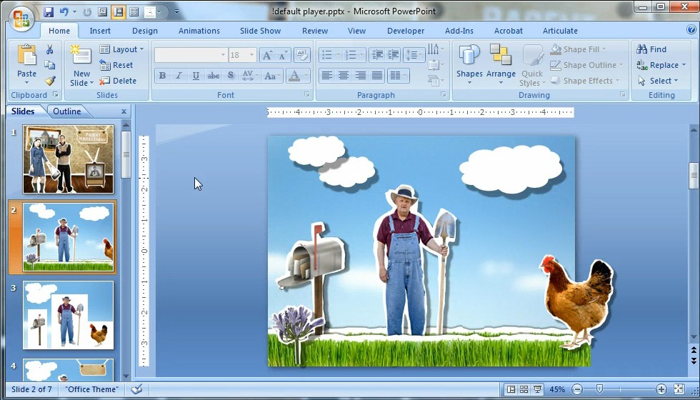 Create 3D Effects in PowerPoint
