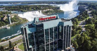 加拿大Canda   喜來登尼加拉瀑布飯店 Sheraton on the Falls Hotel 2018秋尼加拉瀑布住宿