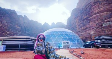 約旦住宿|瓦地倫沙漠月亮谷奢華泡泡帳篷住一晚