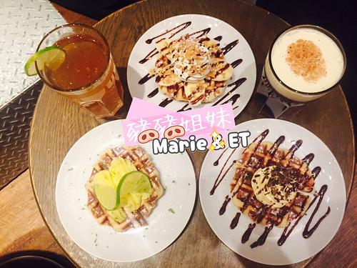 【爽爽吃食記】甜點.台北東區 – Mr.papa waffle & cafe 比利時列日鬆餅專賣店