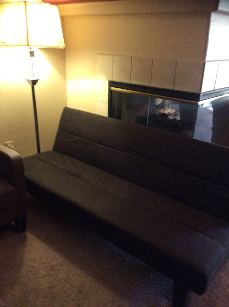 Sofa Open Box Used Sofa Bed Microfiber Brown New Open Box In Las Vegas