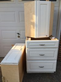 Used Kitchen cabinets pantry cabinet in Virginia Beach