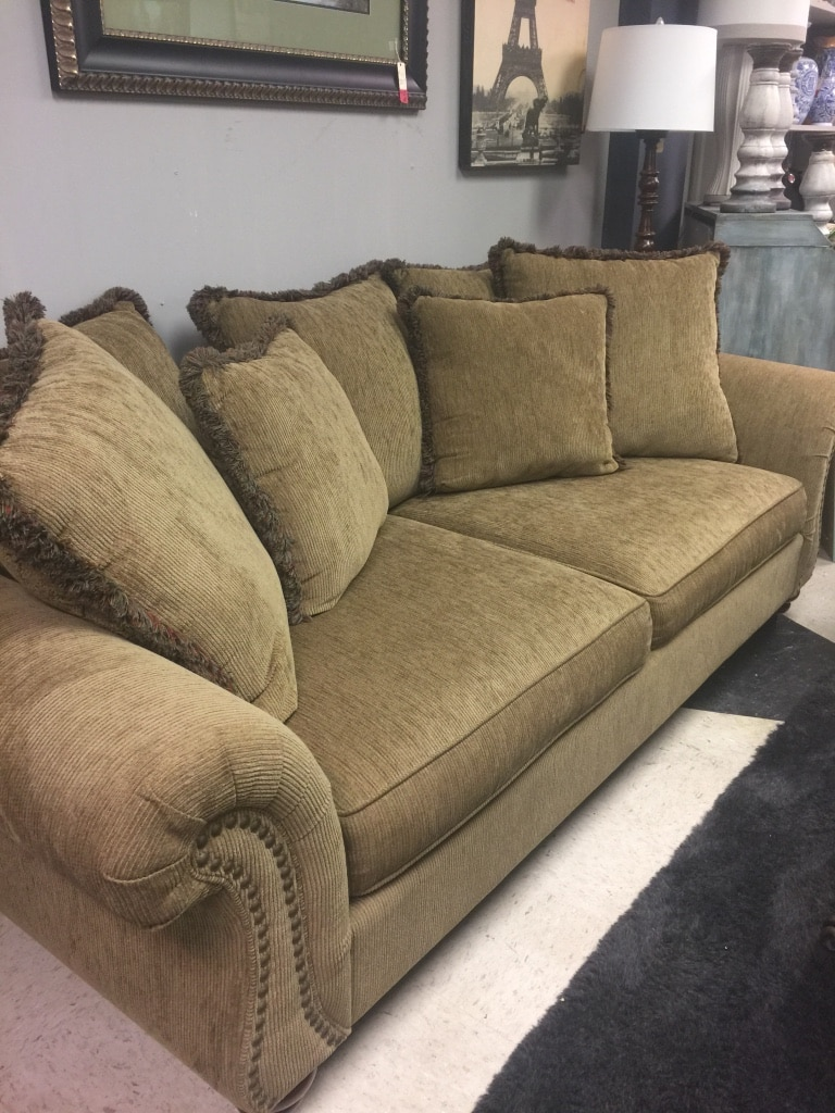 Broyhill Brown Corduroy Sofa White Corduroy Sofa Year Of Clean Water