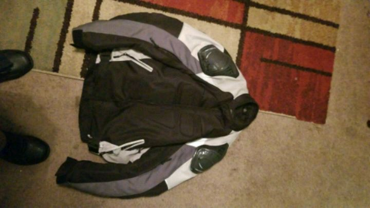 Used Red And White Zip Up Jacket For Sale In Raleigh Letgo